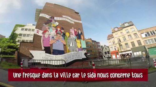 Vidéos des fresques dans la ville de Bruxelles