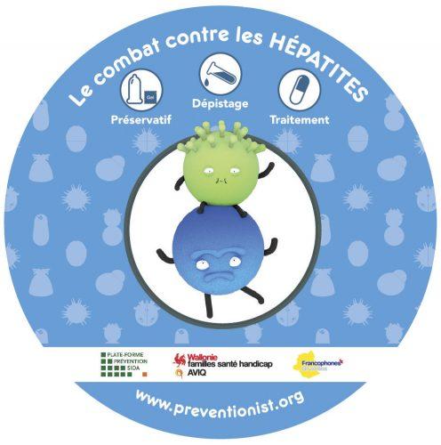 Stickers-hepatites
